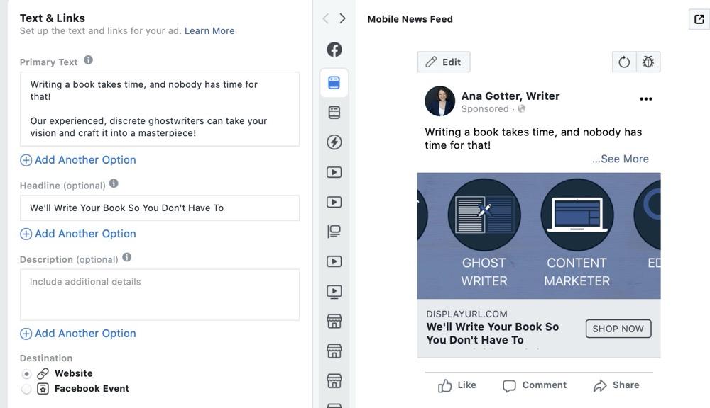 如何撰写高转化率Facebook广告标题(实战案例分享)
