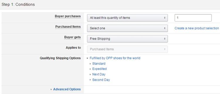 干货 | 亚马逊促销活动Free Shipping设置流程